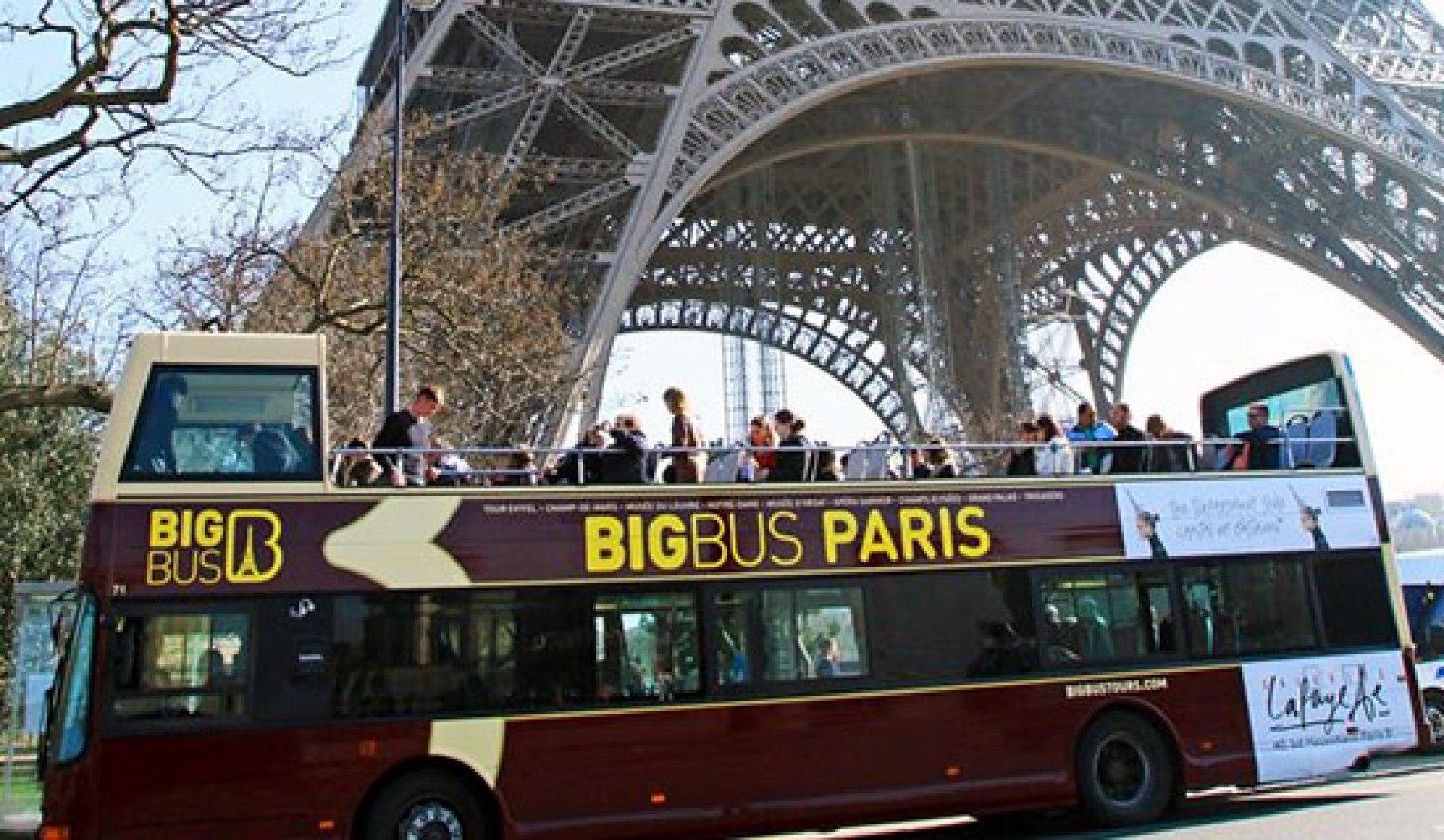 big bus paris tour pass. Black Bedroom Furniture Sets. Home Design Ideas